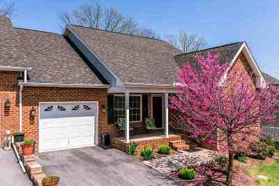 Harrisonburg Townhome For Sale: 470 Hickory Grove Cir