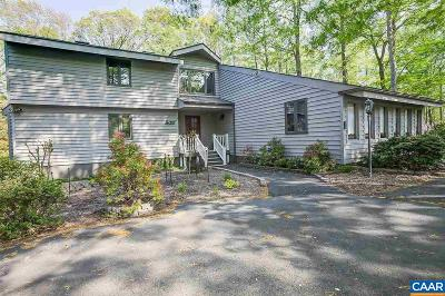 Fluvanna County Single Family Home For Sale: 57 Bunker Blvd