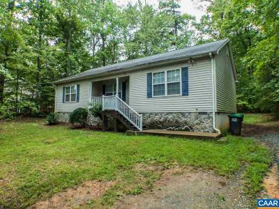 Fluvanna County Single Family Home For Sale: 611 Jefferson Dr