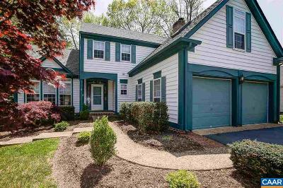 Charlottesville Single Family Home For Sale: 2601 Kendalwood Ln
