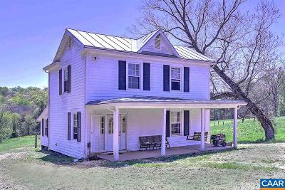 Scottsville VA Single Family Home For Sale: $419,000