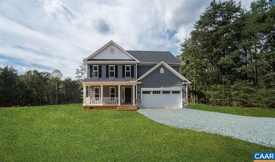 Fluvanna County Single Family Home For Sale: 1369 Haden Martin Rd