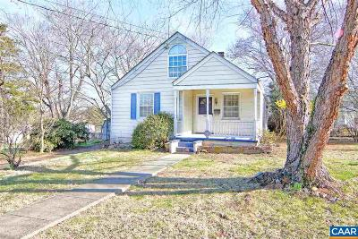 Charlottesville Single Family Home For Sale: 1405 Chesapeake St