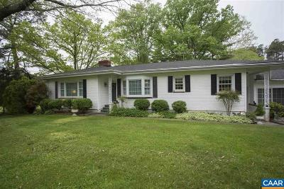 Louisa County Single Family Home For Sale: 9054 Jefferson Davis Hwy