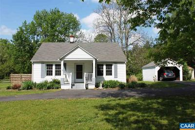 Crozet Single Family Home For Sale: 5080 Browns Gap Tpke