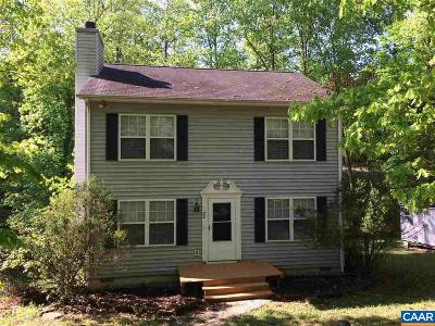 Fluvanna County Single Family Home For Sale: 22 Rowell Rd