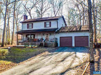 Fluvanna County Single Family Home For Sale: 40 Amethyst Rd