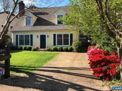 Charlottesville Single Family Home For Sale: 109 Raymond Ave
