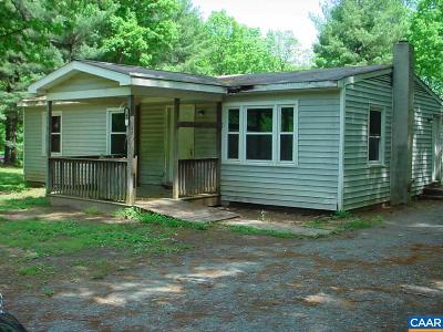 Fluvanna County Single Family Home For Sale: 40 Ruritan Lake Rd