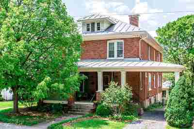 Harrisonburg Single Family Home For Sale: 487 S Mason St