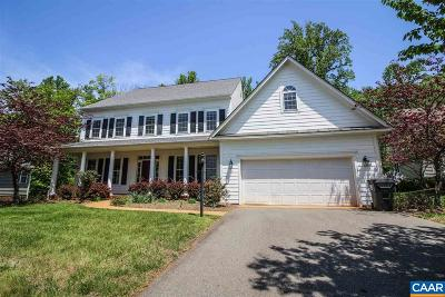 Charlottesville Single Family Home For Sale: 1973 Via Florence