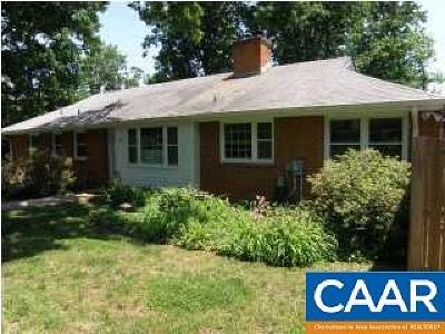 Charlottesville Single Family Home For Sale: 144 N Bennington Rd