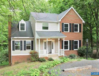 Charlottesville Single Family Home For Sale: 1810 Steeplechase Run