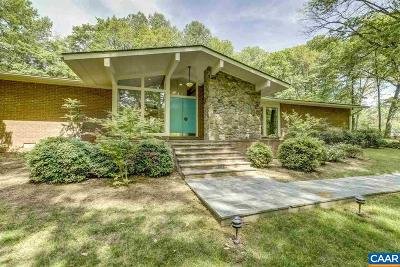 Charlottesville Single Family Home For Sale: 315 E Monacan Dr