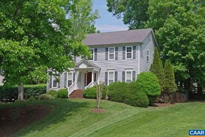 Charlottesville Single Family Home For Sale: 1338 River Chase Ln
