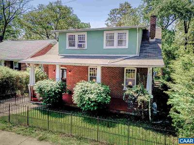 Charlottesville Single Family Home For Sale: 204 Robertson Ave