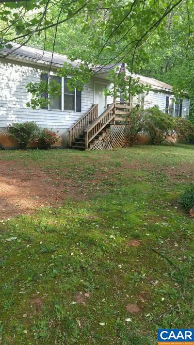 Nelson County Single Family Home For Sale: 286 Lincoln Ln