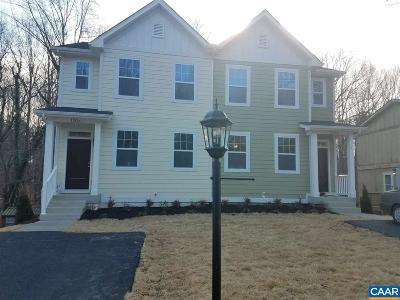 Charlottesville Townhome For Sale: 120 Longwood Dr #B