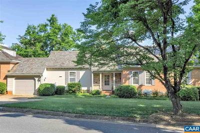 Albemarle County Townhome For Sale: 11 Ednam Village St