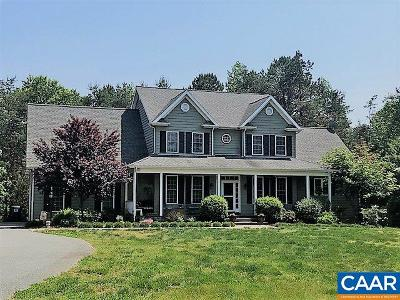Fluvanna County Single Family Home For Sale: 367 Taylor Ridge Way