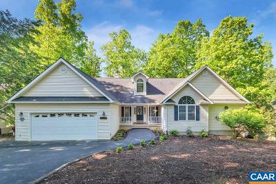 Fluvanna County Single Family Home For Sale: 259 Jefferson Dr