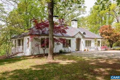 Albemarle County Single Family Home For Sale: 777 Tilman Rd
