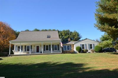 Waynesboro VA Single Family Home For Sale: $349,900