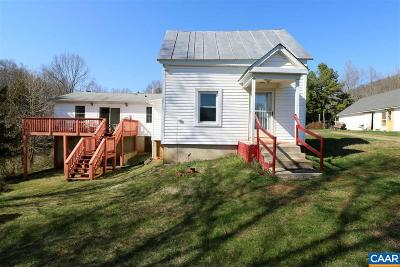 Nelson County Single Family Home For Sale: 1986 Horseshoe Rd