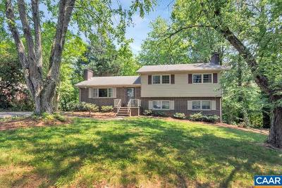 Charlottesville Single Family Home For Sale: 3006 Colonial Dr