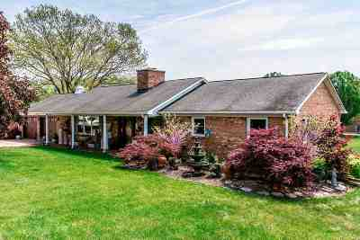 Single Family Home For Sale: 1687 Boyers Rd