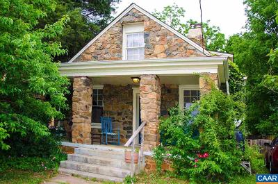 Charlottesville Single Family Home For Sale: 911 Anderson St