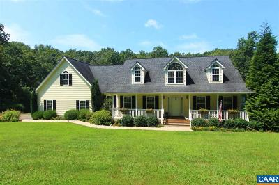 Gordonsville VA Single Family Home For Sale: $475,000