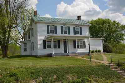 Shenandoah County Single Family Home For Sale: 3345 Conicville Rd