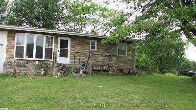 Staunton VA Single Family Home For Sale: $150,000