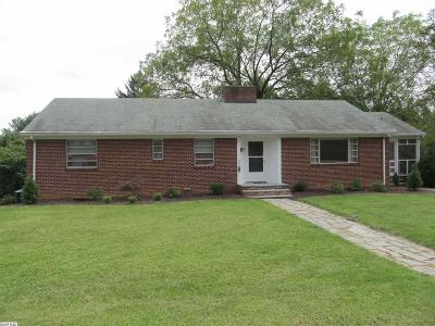 Staunton VA Single Family Home For Sale: $269,900