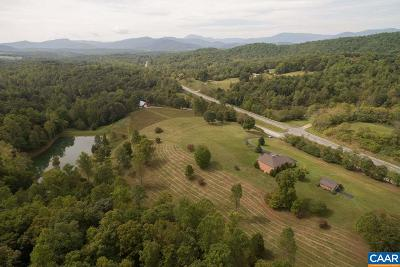 Nelson County Single Family Home For Sale: 19218 - A Thomas Nelson Hwy