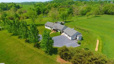 Staunton Single Family Home For Sale: 1165 Miller Farm Rd