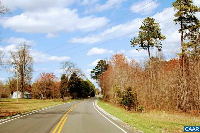 Buckingham County Lots & Land For Sale: Lot 1 Constitution Rte