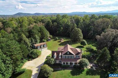Albemarle County Single Family Home For Sale: 2530 Lake Albemarle Rd