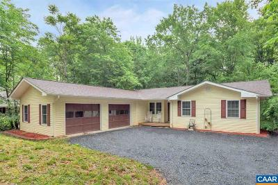 Fluvanna County Single Family Home For Sale: 13 Horseback Ln