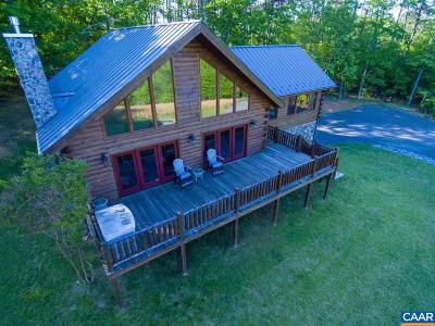 Albemarle County Single Family Home For Sale: 4470 Mt Alto Rd
