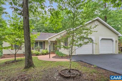 Fluvanna County Single Family Home For Sale: 13 Shortwood Cir