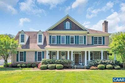 Albemarle County Single Family Home For Sale: 2530 Lake Albemarle Rd #20 acre