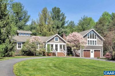 Albemarle County Single Family Home For Sale: 2458 Rock Branch Ln