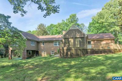 Charlottesville Single Family Home For Sale: 1445 Pinedale Rd