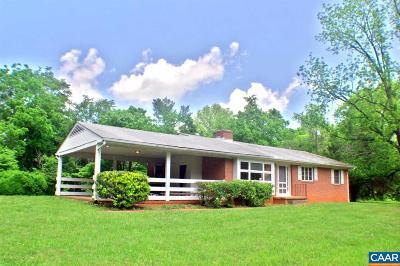 Keswick Single Family Home For Sale: 3384 Keswick Rd