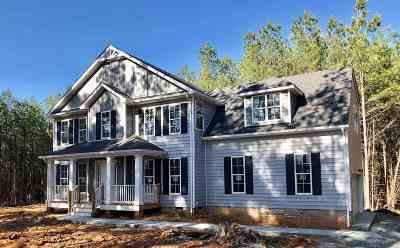 Fluvanna County Single Family Home For Sale: Lot 14 Boxwood Ln