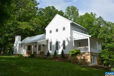 Charlottesville Single Family Home For Sale: 1007 Taylors Gap Rd