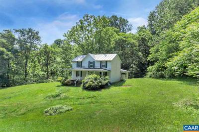 Albemarle County Single Family Home For Sale: 18446 Buzzard Hollow Rd