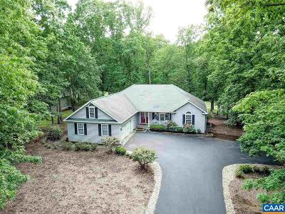 Fluvanna County Single Family Home For Sale: 30 Dogleg Rd